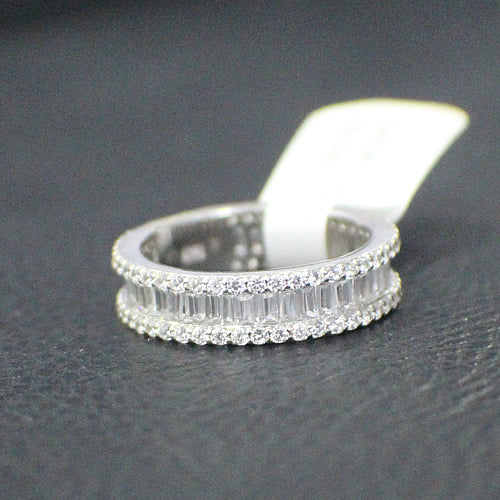Sterling Silver Wedding Band - 15AB38