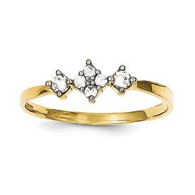 Gold Engagement Ring - 15GG06