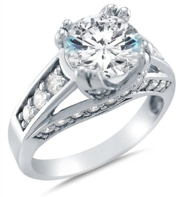 Solid 14k Engagement Ring - 15GG33
