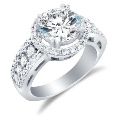 Solid 14k Engagement Ring - 15GG34