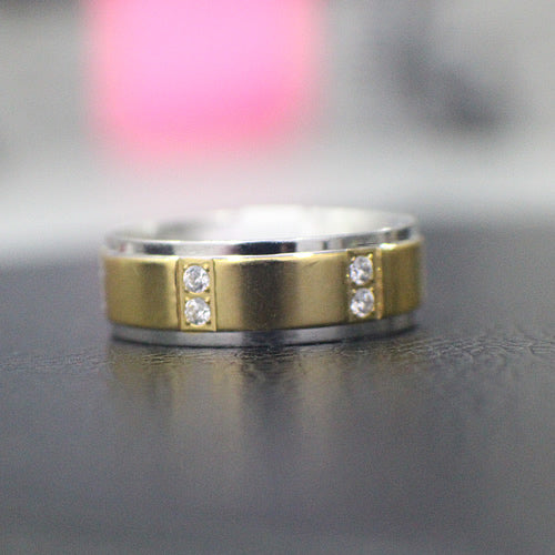 Stainless Steel Wedding Band - 16AB16