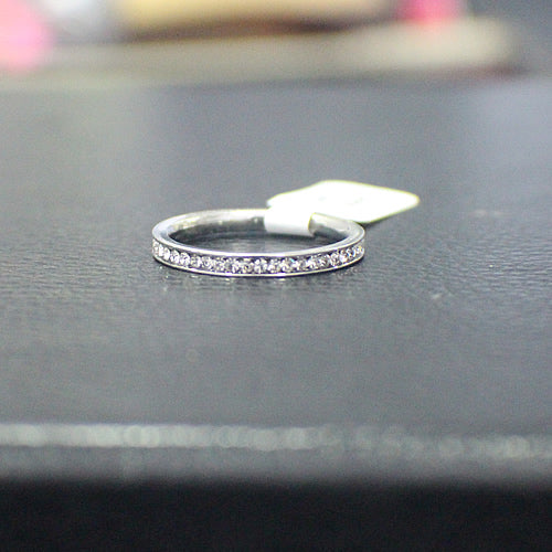 Sterling Silver Wedding Band - 16AB23
