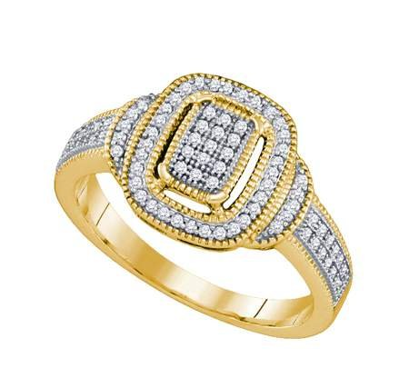 DIAMOND MICRO PAVE RING - 17GG22