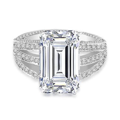 1.56 Ct Diamond Ring in Platinum - 18GG01