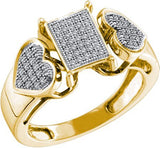 0.20ctw Diamond micro-pave ring - 18GG08