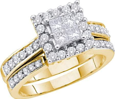 0.50ctw Diamond Bridal Set - 18GG15