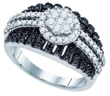 1.00CTW DIAMOND FASHION BAND - 18GG24