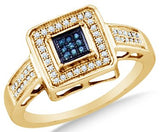 10k White OR Yellow Diamond Micro Pave Ring - 18GG85
