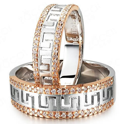 18K Gold Wedding Band - 19GG70