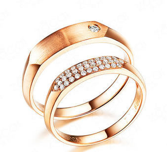 18K Gold Wedding Band - 19GG72