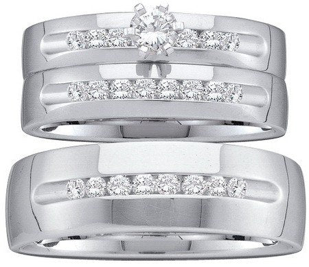 Trio Diamond Rings Set - 21GG15