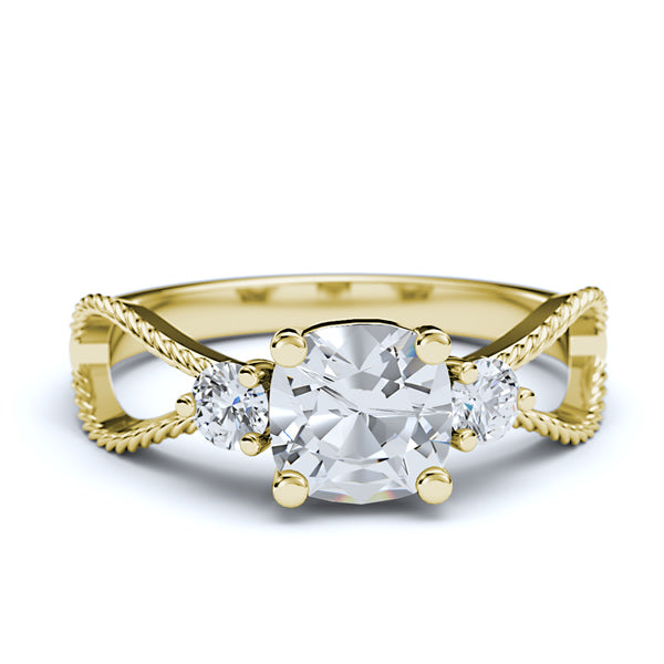 Gold Engagement Ring - 22GG12