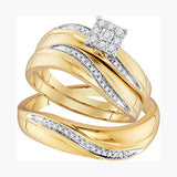Diamond Wedding Set - 22GG24