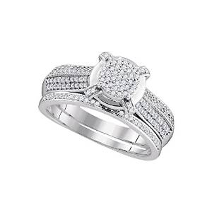 Diamond Micro Pave Engagement Ring - 22GG36