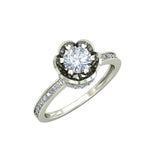 1.62ct Round Diamond Gold Engagement Ring - 27GG02