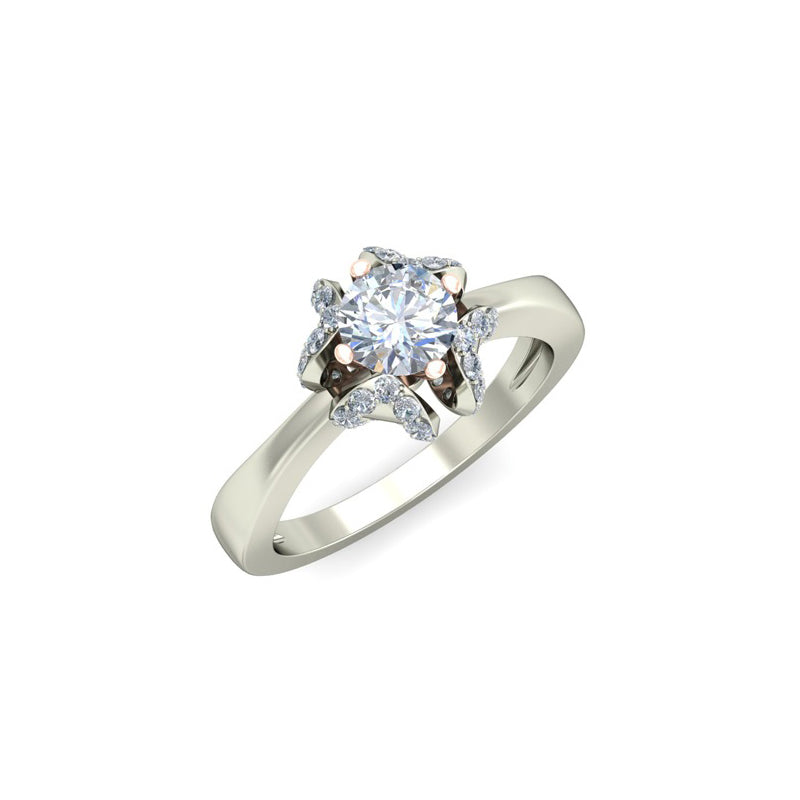 1.19ct Brilliant Cut Solitaire Gold Engagement Ring - 27GG23