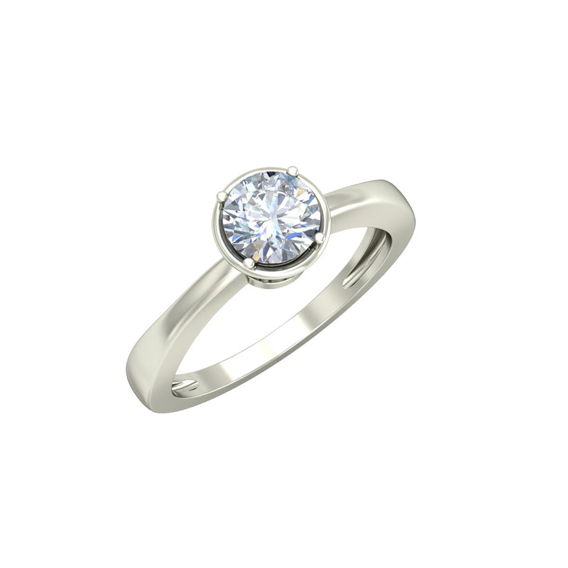 0.89ct Brilliant Cut Gold Engagement Ring - 27GG49