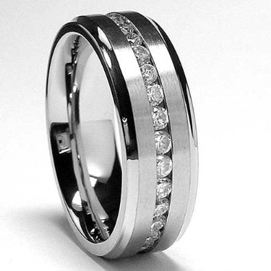 Titanium Wedding Band - B01