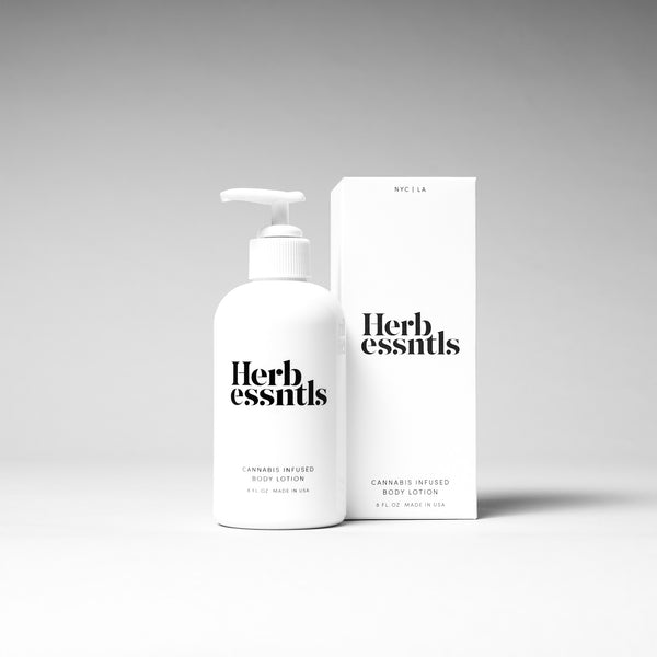 Cannabis Infused Body Lotion - Crop Beauty