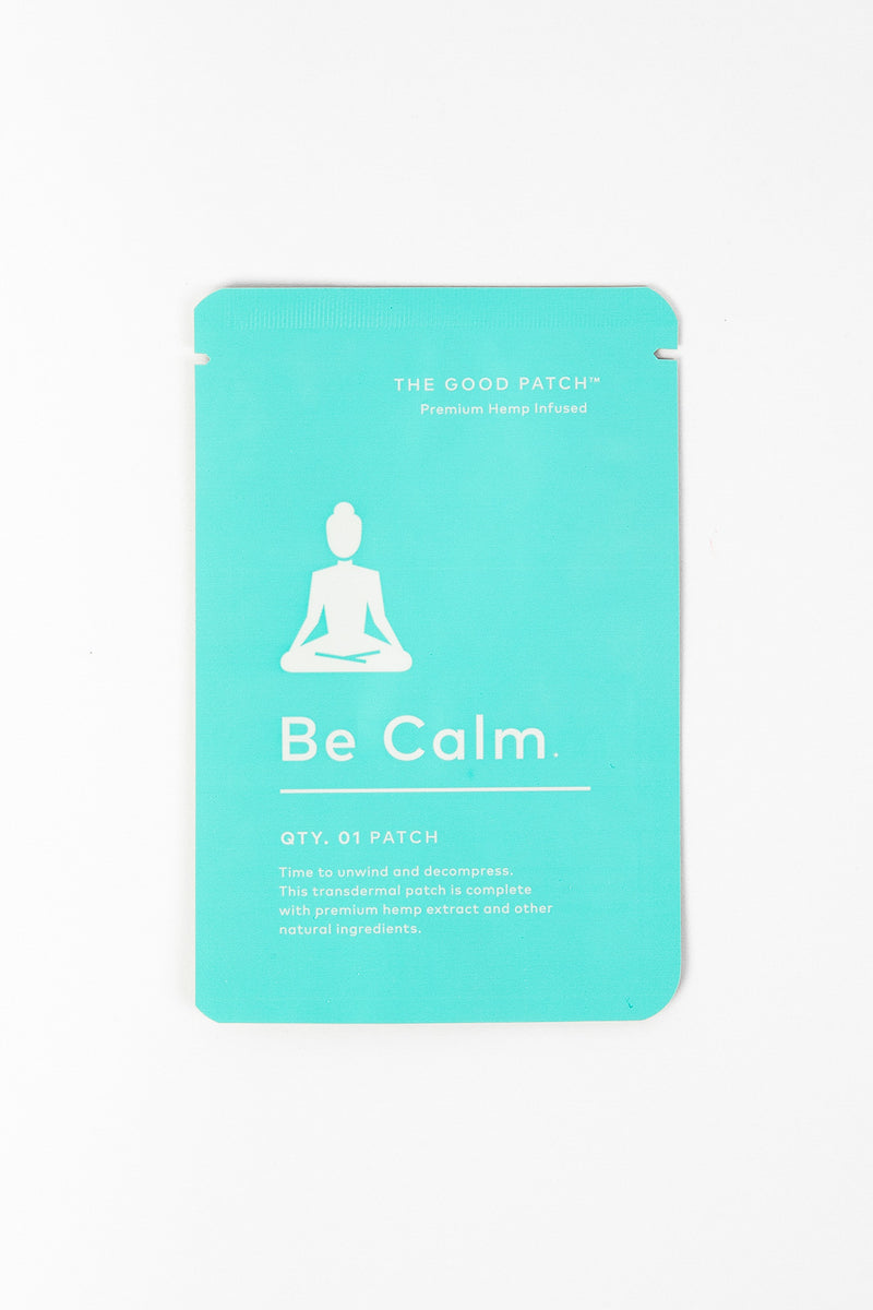 Be Calm CBD Patch - Crop Beauty