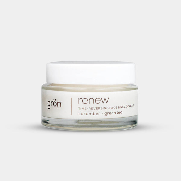 Renew Time-Reversing Face & Neck Cream - Crop Beauty