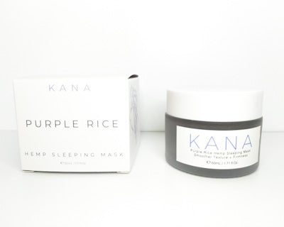 Purple Rice Hemp Sleeping Mask - Crop Beauty