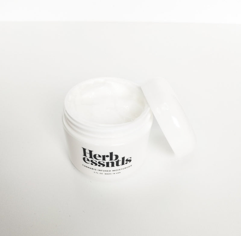 Cannabis Infused Face Moisturizer - Crop Beauty