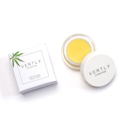 CBD lip balm peppermint - Crop Beauty