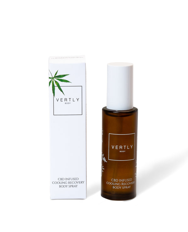 CBD Cooling Recovery Body Spray - Crop Beauty