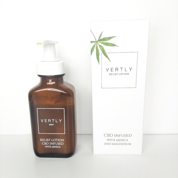 Relief Lotion CBD infused