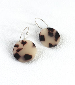 Tortoiseshell Round on Hoops-Your choice of colour