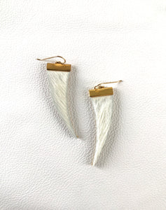 Tusk Earrings- Your choice of colour