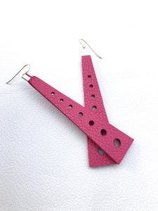 Triangle Tower Earrings