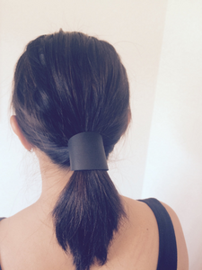 Curve Cuff Wrap-Leather Hair Accessory