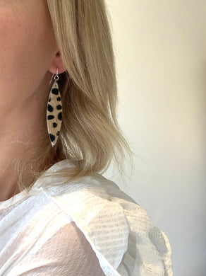 wild cat earrings- Three styles to choose from