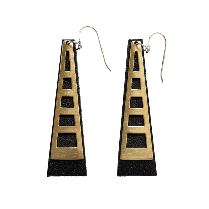 Tower Earrings -Windows