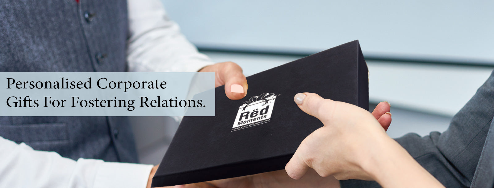 Personalised Corporate Gifts for Fostering Relations  - Red