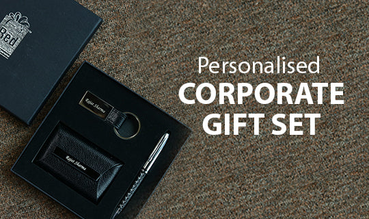 Personalised Corporate Gift Set - Red Moments