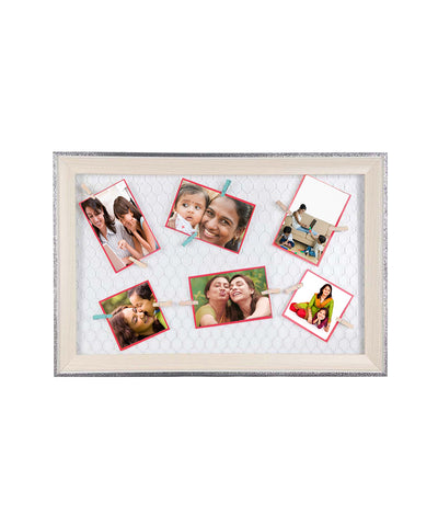 Personalize Scrap Book Hanging Photo Frame