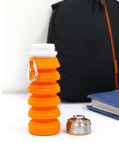 Collapsible Bottle - Orange