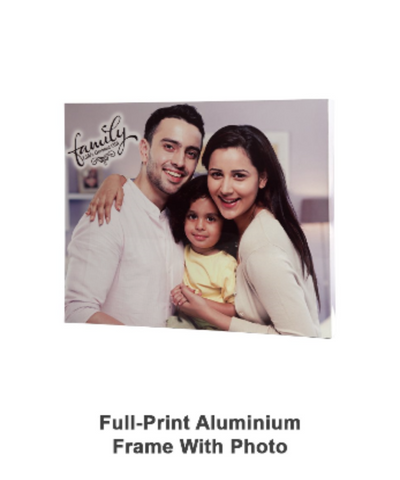Full Print Aluminium Frame With Photo