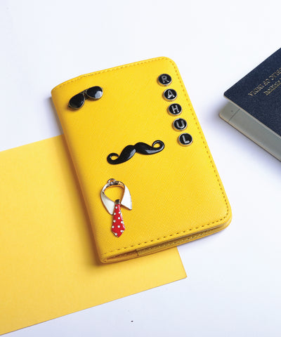 Yellow Ochre Passport Cover