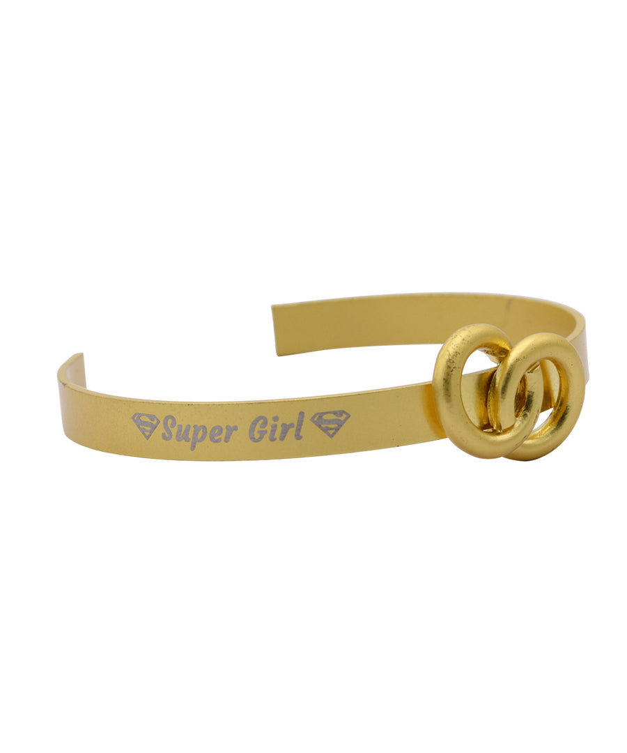 Super Girl Golden Bracelet