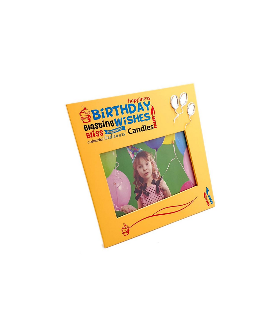 Blasting Birthday Wishes Frame