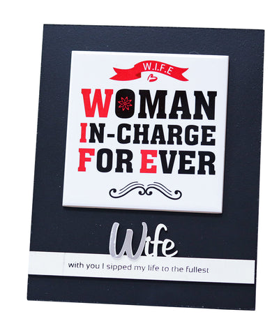 Woman In-Charge Frame