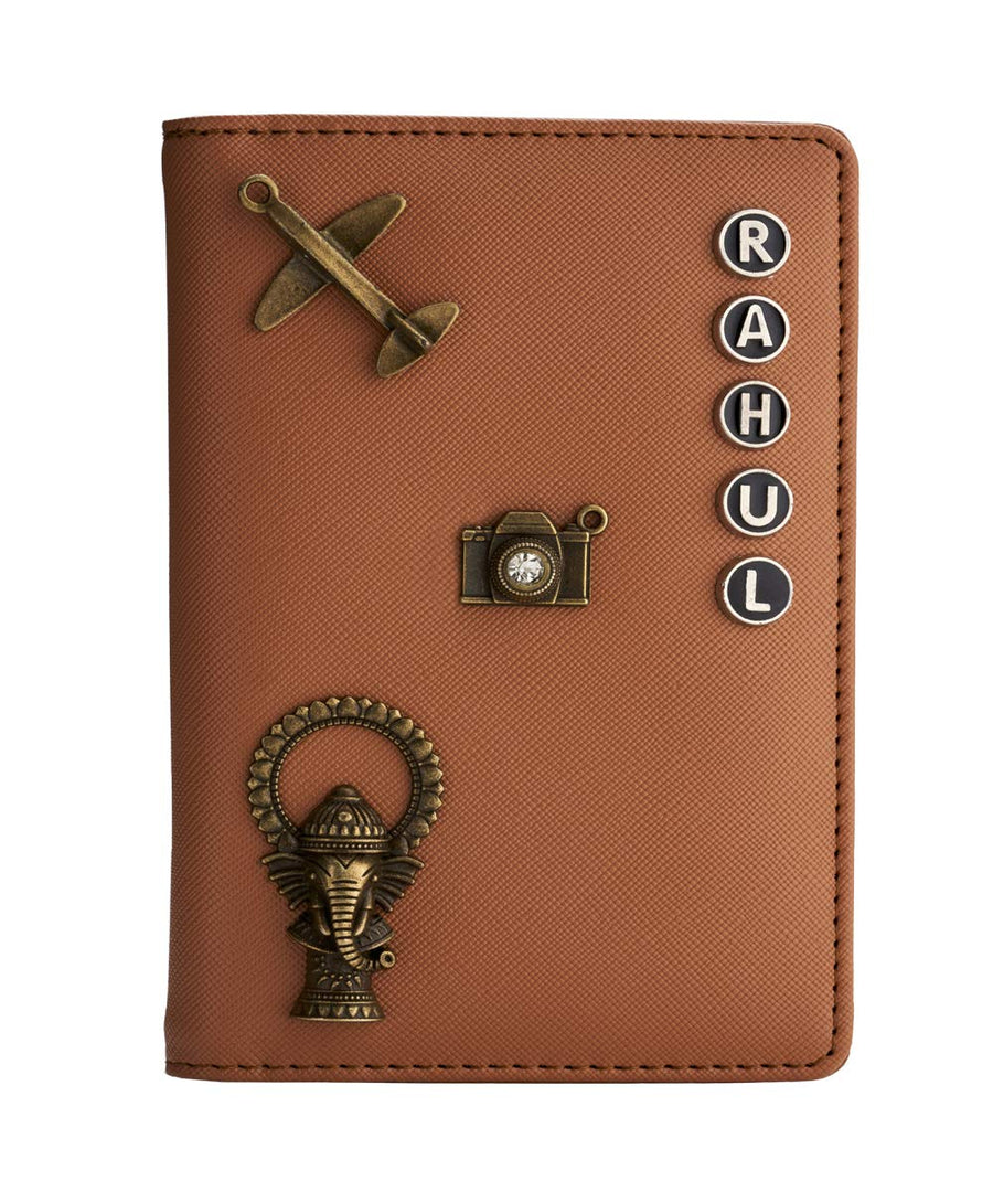 Dark Brown Passport Cover