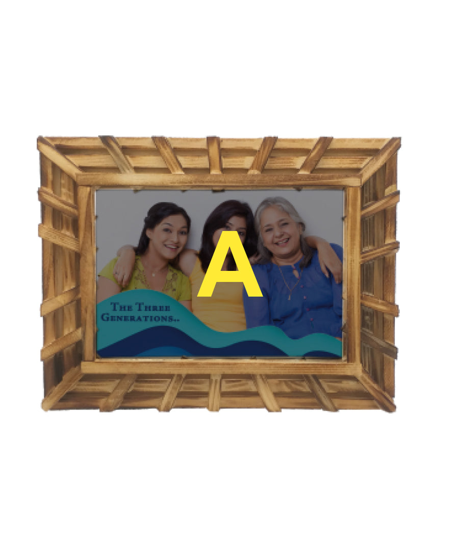 Bamboo Photo Frame-5X7
