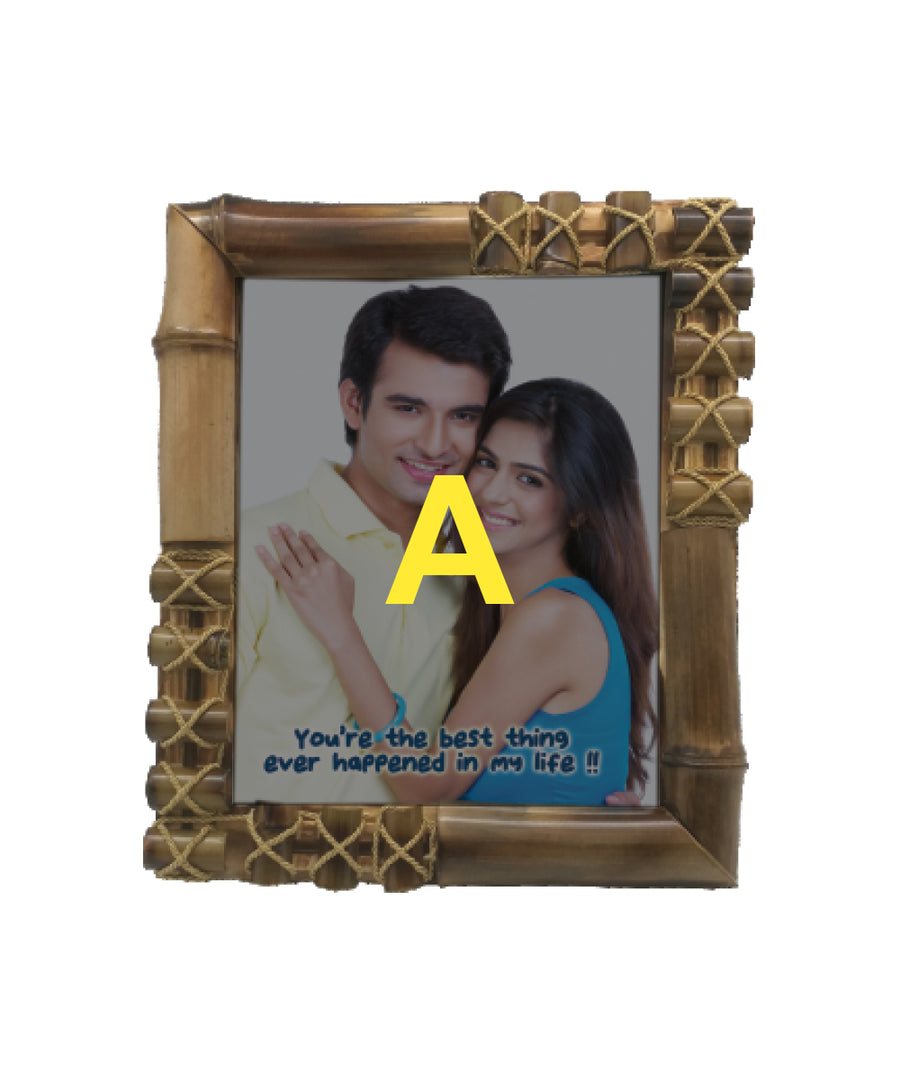 Bamboo Photo Frame-8X10