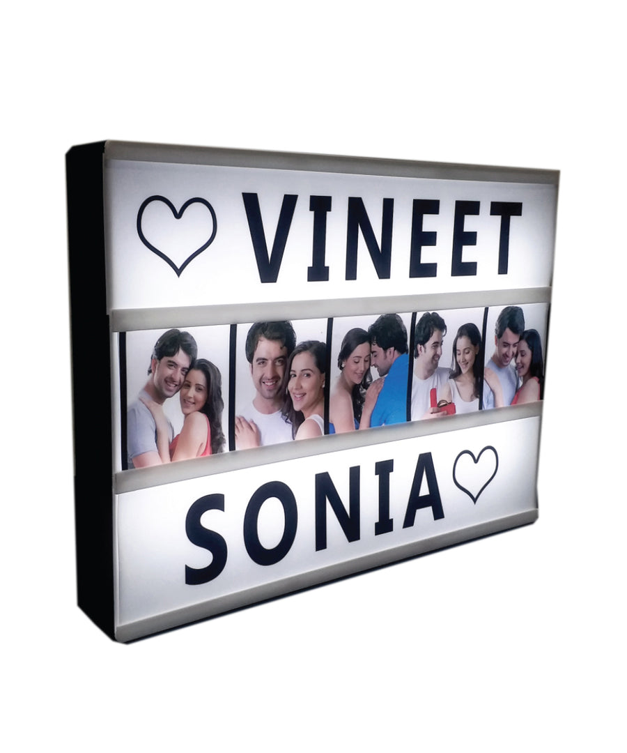 Backlit Photo Box