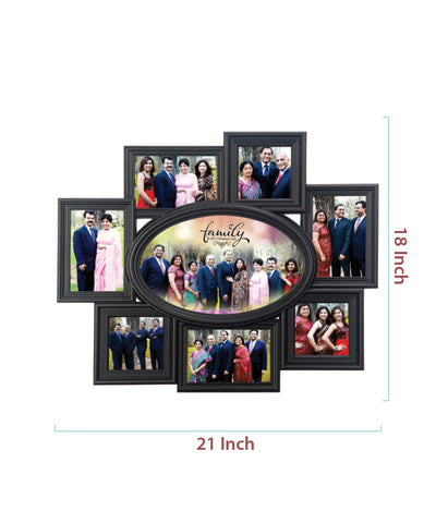 8-Foto Plastic Photo Frame